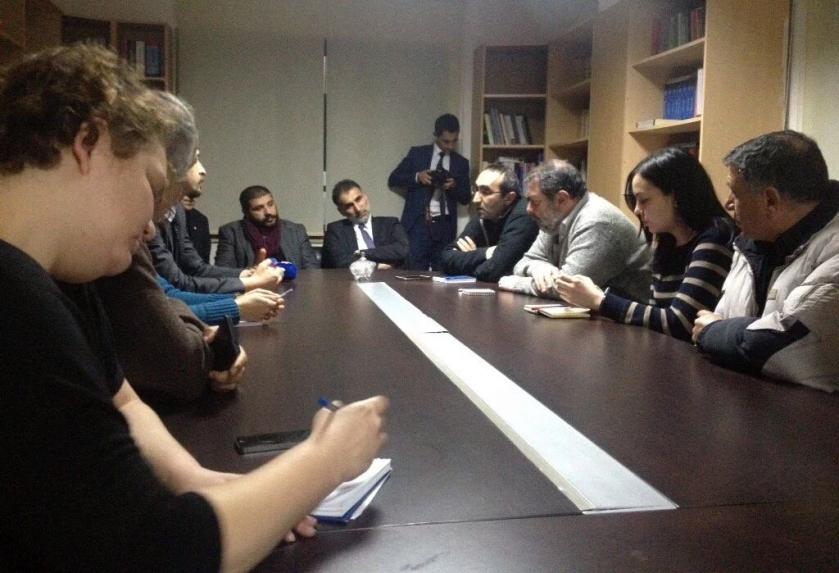 Diyarbakır Barosu ziyareti